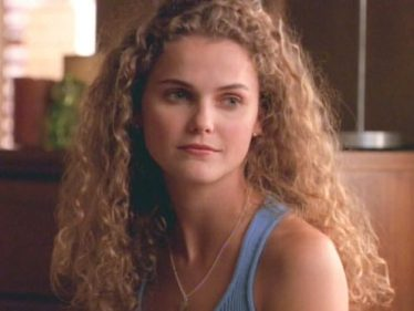 Keri Russell as a doe-eyed college girl in Felicity.