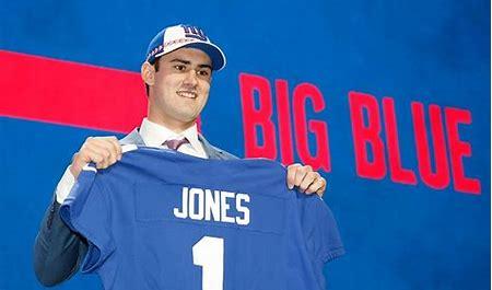 Daniel Jones at the 2019 Draft