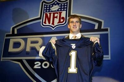 Eli Manning at the 2004 Draft