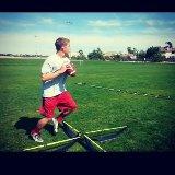 Ryan doing QB drills