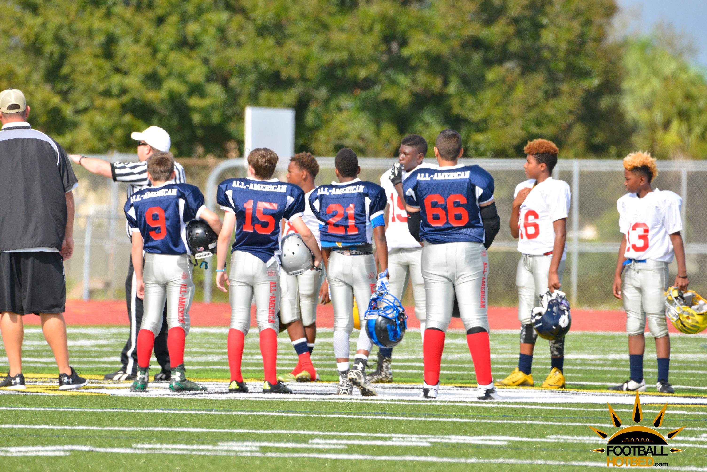 American Way Middle School Football 2013