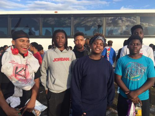 Team Tampa 8th Grade Arrives in Georgia