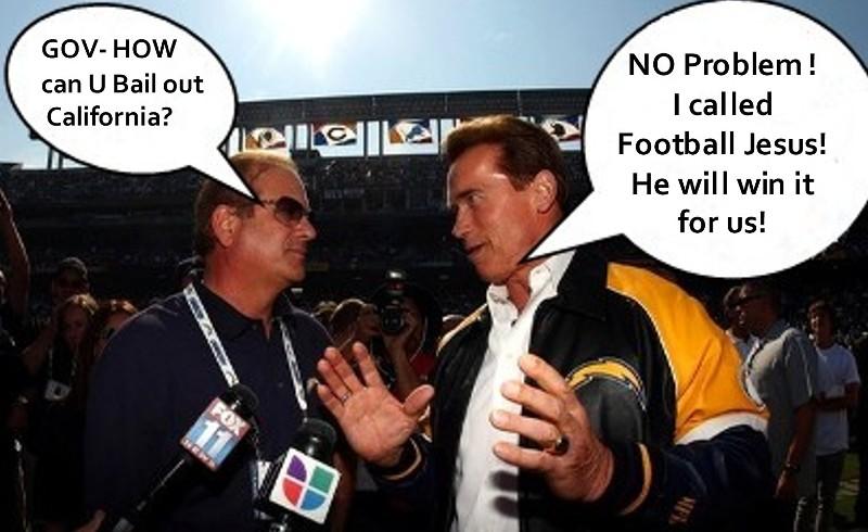 Jesus wins for Arnold