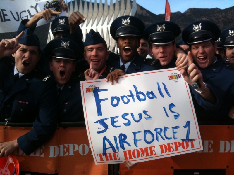 Air Force jesus