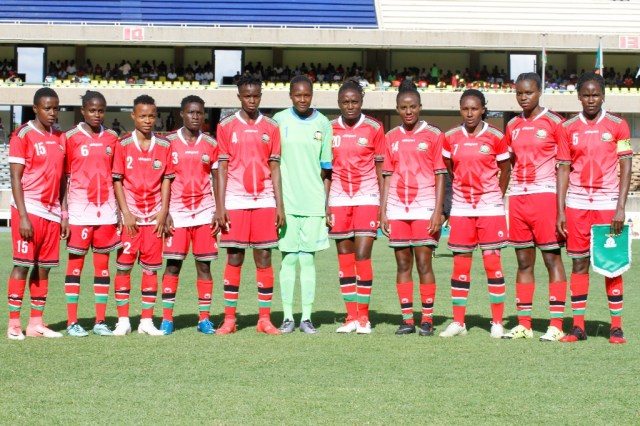 Harambee Starlets starting lineup for Zambia return leg named