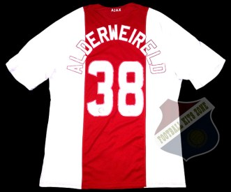 Ajax Home 2008-09 | #38 ALDERWEIRELD