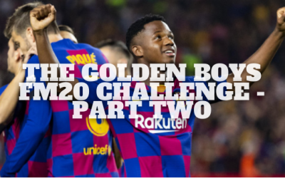 The Golden Boys Challenge – Part 2