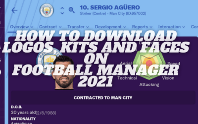 How to download Logos, Kits and Faces on Football Manager 2021 for Mac/PC