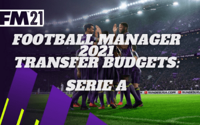 Football Manager 21 Transfer Budgets: Serie A