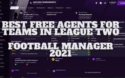 Best Free Agents for Teams in League Two on Football Manager 21