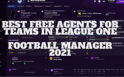 Best Free Agents for Teams in League One on Football Manager 21