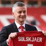 Manchester United Sign Solskjær Permanently