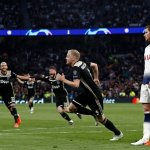 UEFA Champions League Final In Sight As Ajax Down Tottenham
