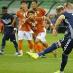 Ola Toivonen Sinks Champions League Debutants In Melbourne