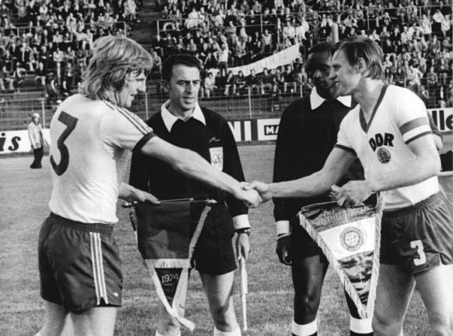 Fußball-WM, DDR - Australien 2:0