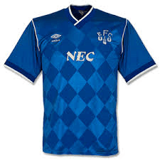 Kit of the Week No. 5: Everton home 1986-89
