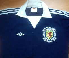 Kit of the Week No.21: Scotland home 1978