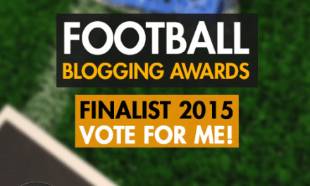 Vote for The Football Pink in The Football Blogging Awards