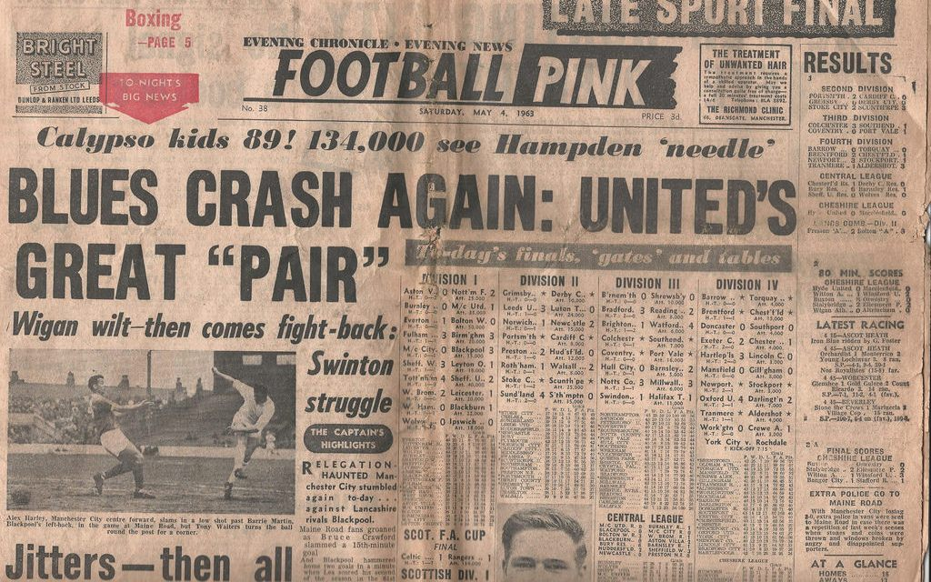 Saturday Evening Pink 78/79: Dalglish puts Liverpool into Cup semi; Shrewsbury earn replay; Spurs and Man United draw