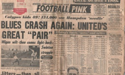 Saturday Evening Pink 78/79: 50 up for Dalglish; Ritchie the star for Manchester United; more blues for Birmingham