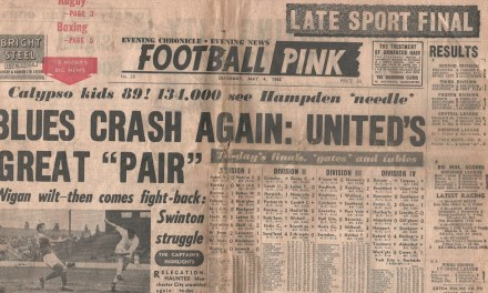 Saturday Evening Pink: 1978 Charity Shield – Nottingham Forest 5-0 Ipswich Town