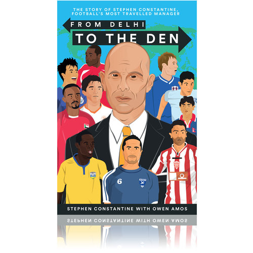 Book review: From Delhi to The Den by Stephen Constantine with Owen Amos