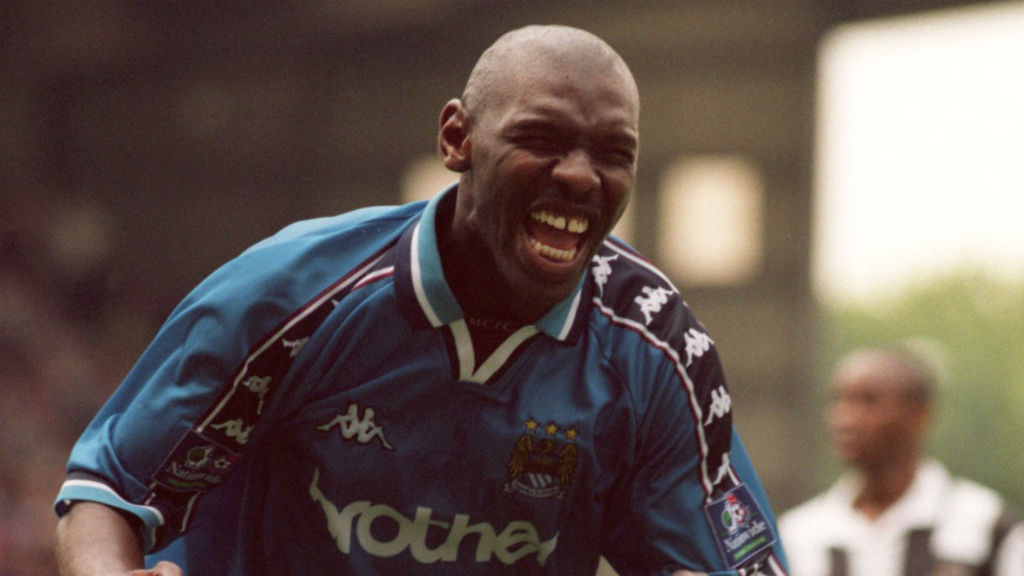 Shaun Goater – a gradual love affair with Manchester City