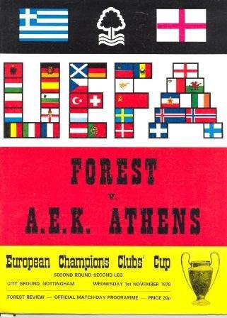 Season 78/79: Nottingham Forest ease into European Cup quarter finals
