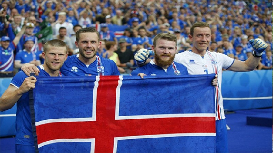 Iceland defy the numbers to earn a crack at Messi and Modric
