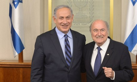 Sepp Blatter and the Israeli-Palestinian conflict