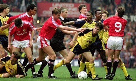 Decades of Dislike: The First Battle of Old Trafford in October 1990