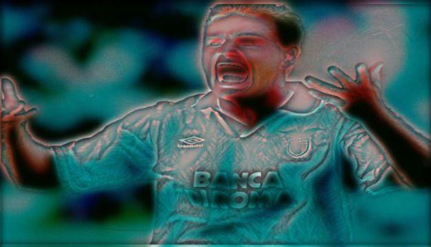 Paul Gascoigne: lost in Lazio