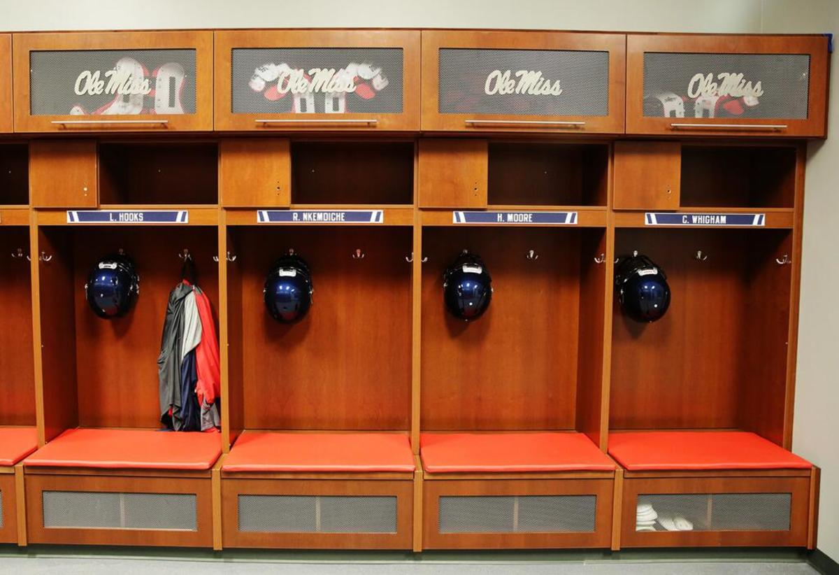 Photos: Ole Miss Has A New Locker Room
