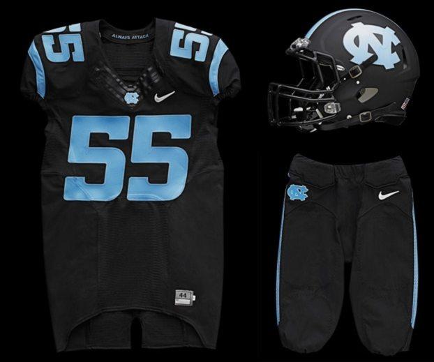 Black-UNC-Football-Uniforms-2