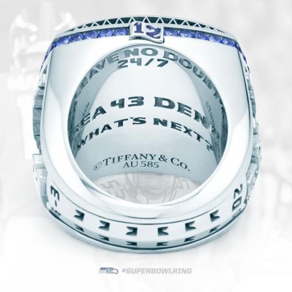 Photos The Seattle Seahawks Super Bowl Rings Are Legit