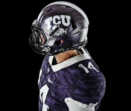 1d8d581c3 TCU debuts new lizard scale-inspired uniforms - FootballScoop