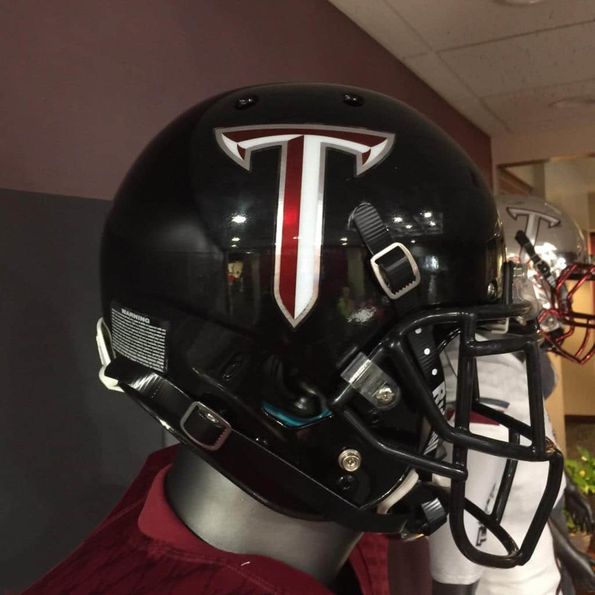 photos troy has your favorite new helmets in college