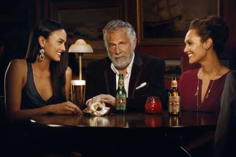 dos equis is replacing the most interesting man in the world