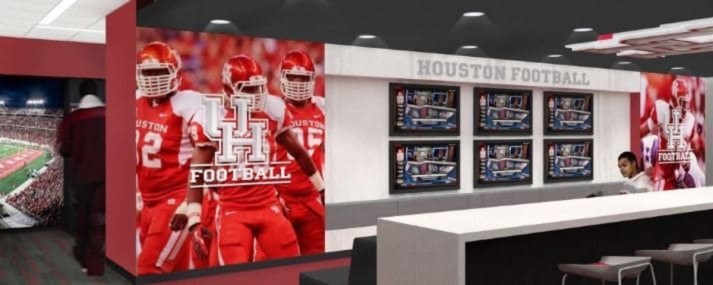 Virtual Tour The Houston Locker Room Is Getting An