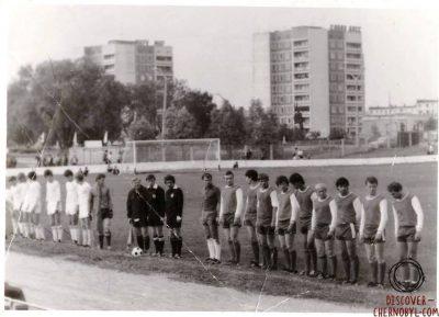 Le FK Stroitel Pripyat, quand on jouait au football à 5 kilomètres de Tchernobyl - Footballski - le football de l'est (Blog)