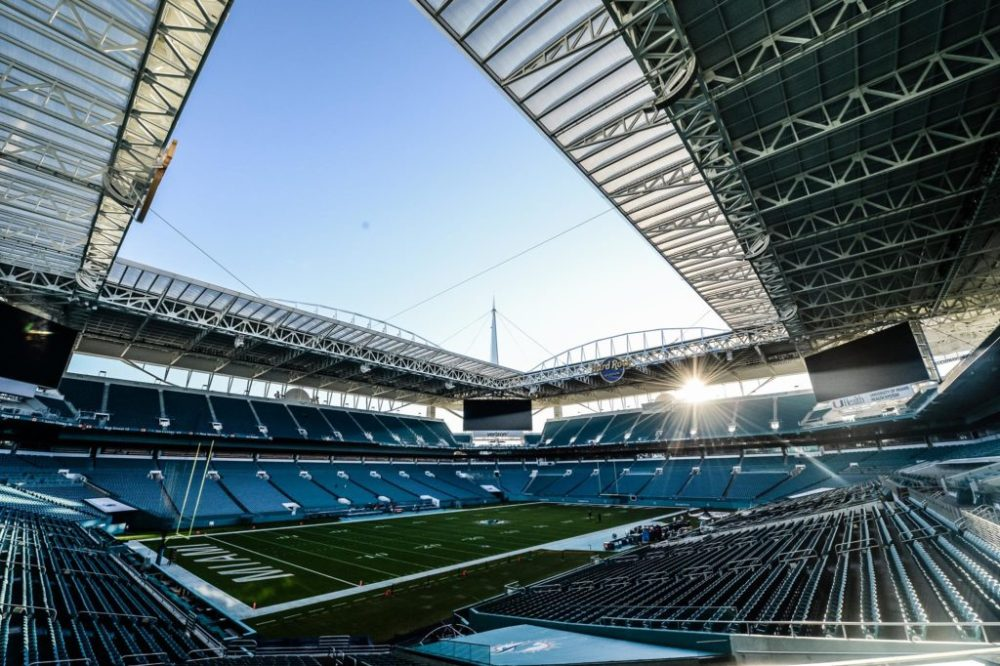 Hard Rock Stadium Prepped for Super Bowl LIV - Football Stadium Digest