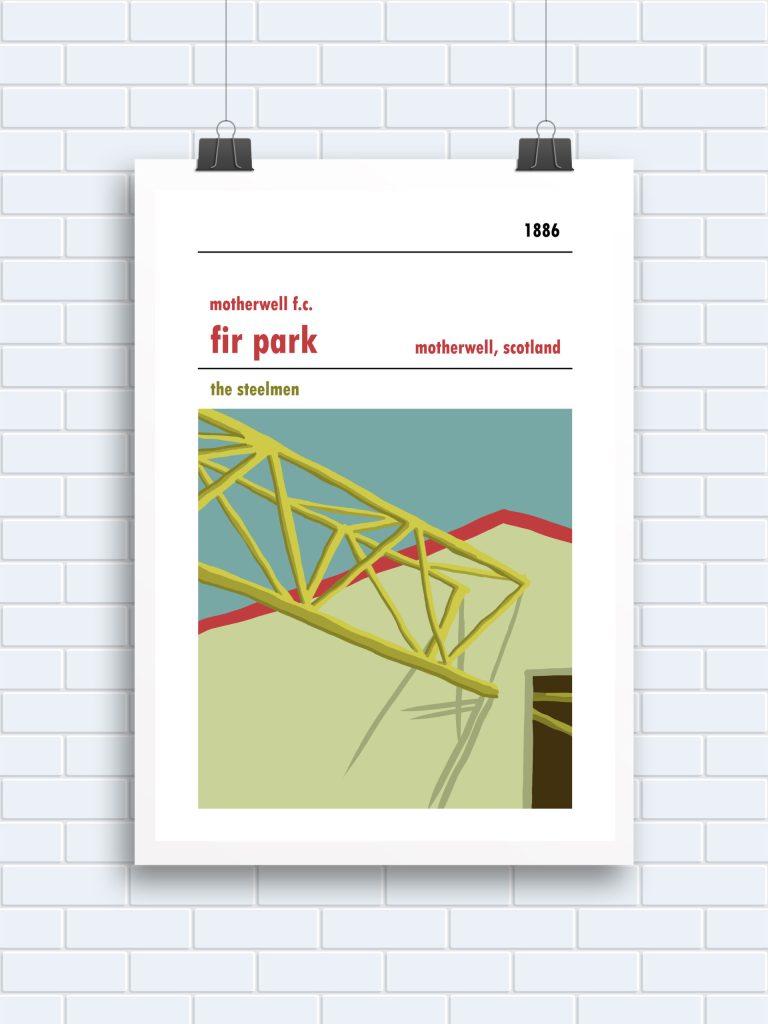 Fir Park, Motherwell. Beam