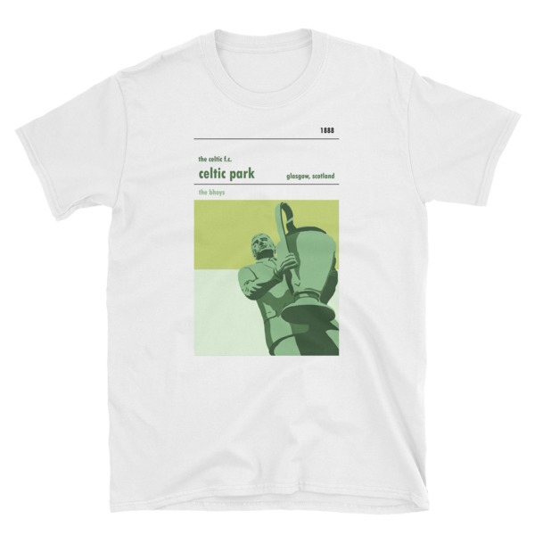 A t shirt of Jock Stein and Celtic FC