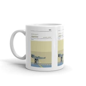 A coffee mug of Cappielow, home of Greenock Morton, the Ton