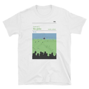 A white t-shirt of Brechin City FC and the Hedge