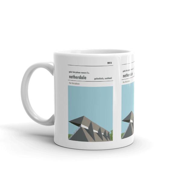 A coffee mug of Gala Fairydean Rovers and Netherdale