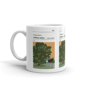 Coffee mug of Stirling University FC and Forthank Stadium