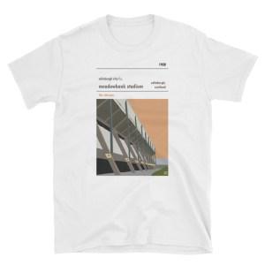 A white t shirt of Edinburgh City FC