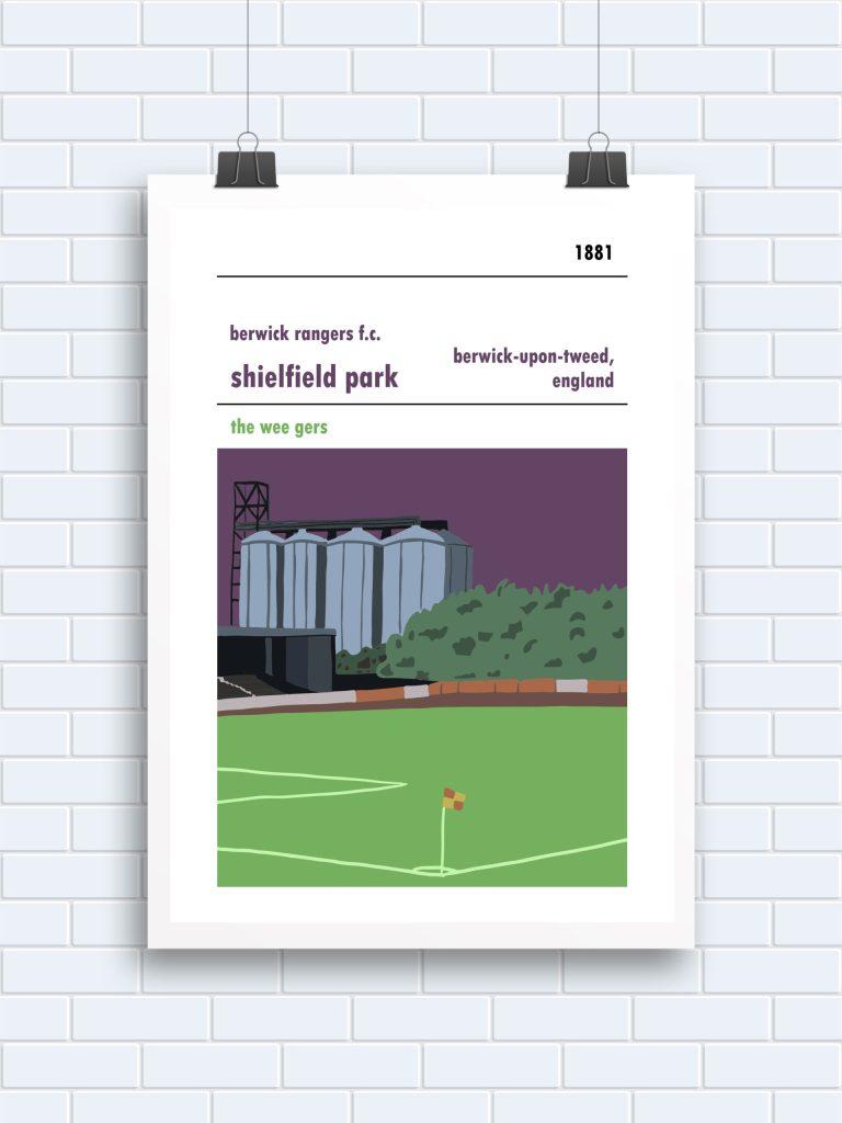 Berwick Rangers Poster