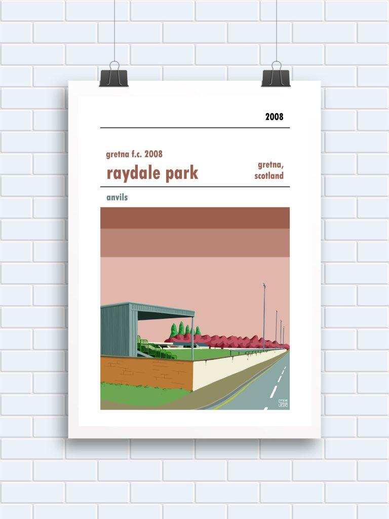 Gretna 2008 Raydale Park Print